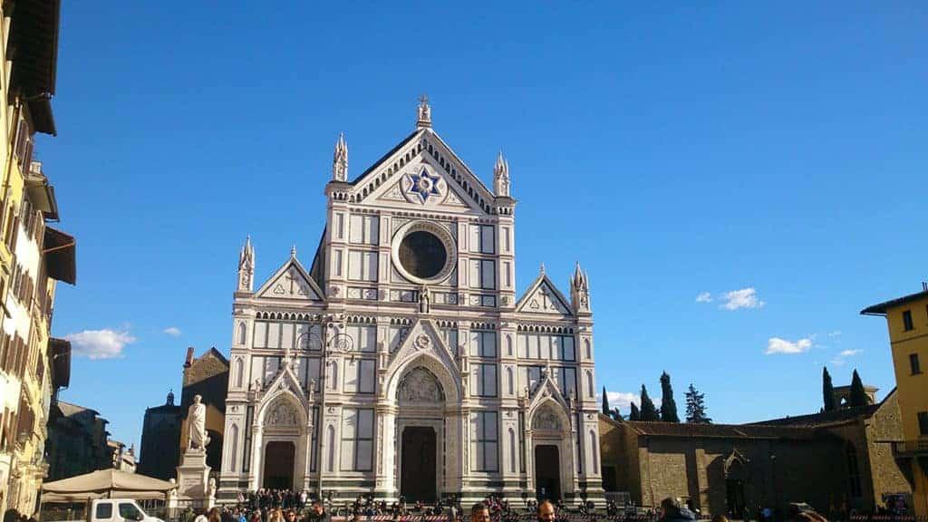 Santa croce church tour