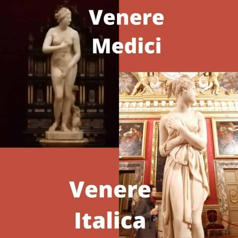 Venere Medici e Venere Italica