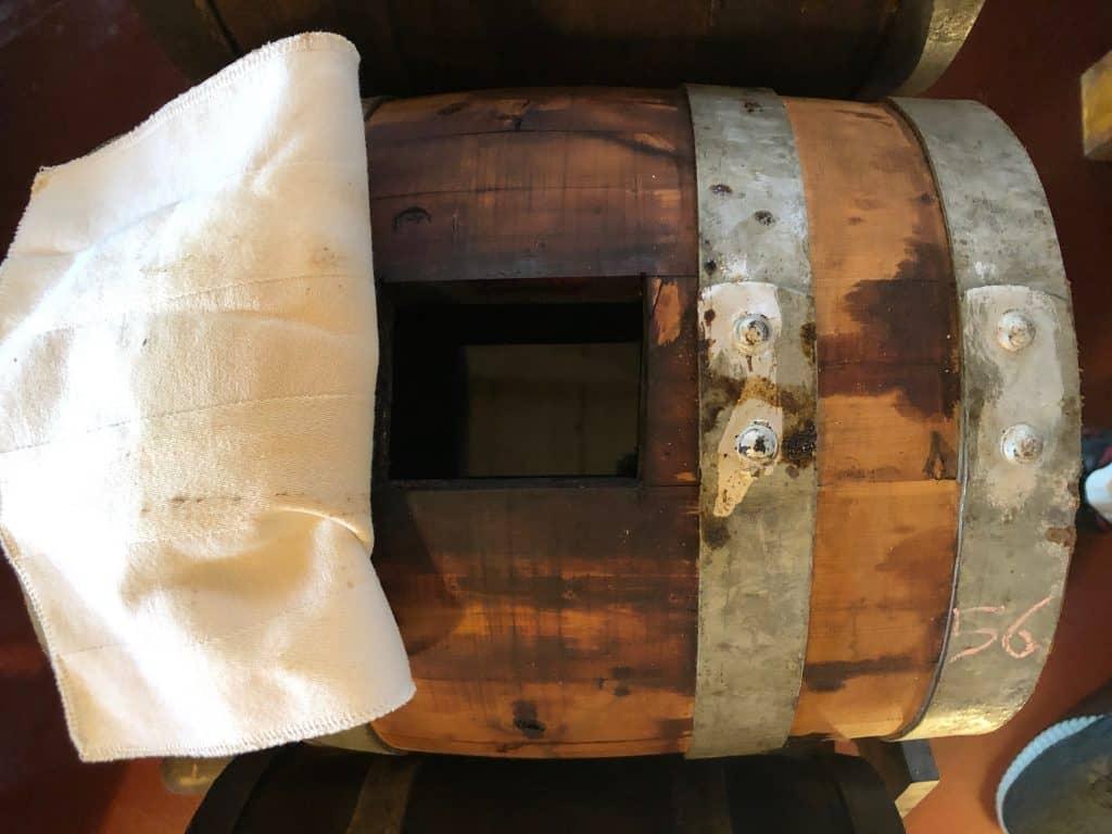 Balsamic Vinegar Barrel